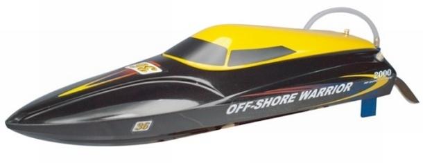 Joysway Offshore Warrior RTR V boot Prof. modelbouw RC boat
