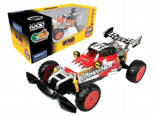 Nikko E-Panther F-50 Buggy RC speelgoed modelbouw RC Auto