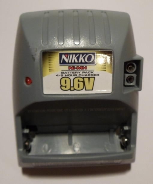 Nikko 9.6 V Ni-MH Battery pack Charger adapter RC oplader