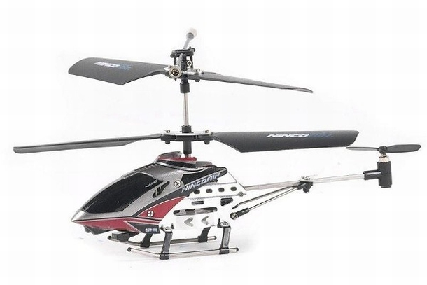 Ninco Air Heli Alu Nano 125 Gyro RTF speelgoed RC Helicopter