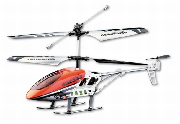 Ninco Air Mini Alu Twin 180 Gyro RTF speelgoed RC Helikopter