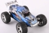 Blauwe Amewi Mini Running Dog speelgoed model rc truggy 1:52