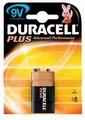 Duracell 9V 6LR61 MN1604 bl/1 Plus alkaline Batterijen