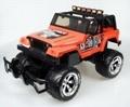 Nikko Jeep Rubicon speelgoed modelbouw RC Monster Car 1:14